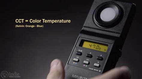 color temperature meter can you trust your color meter cinema academy