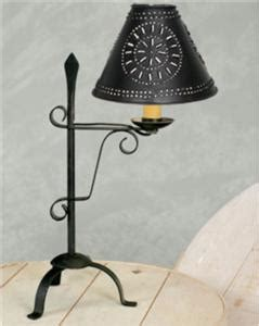 small decorative battery operated ls primitive black wrought iron small spade desk l shade