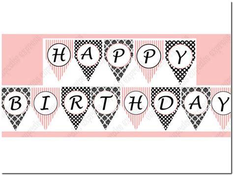 free printable zebra happy birthday banner free printable happy birthday banner letters pictures
