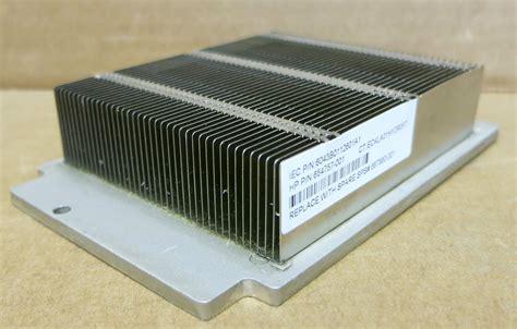 types of heat sink hp dl360p g8 enterprise standard heatsink 665094 001