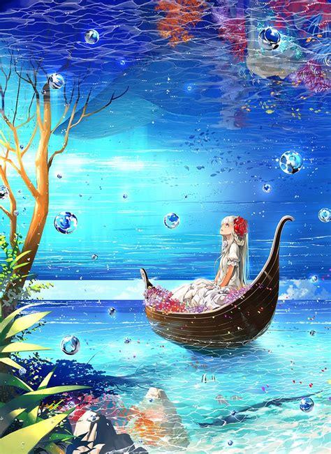 boat underwater drawing 17 best ideas about anime art on pinterest manga art