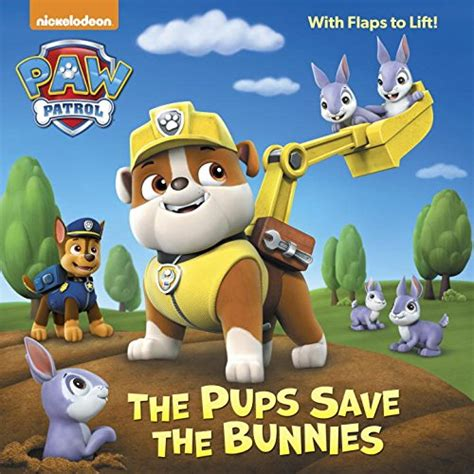 the pups save the bunnies paw patrol pictureback r