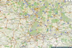 Zwischen dem ranking von google places und google maps findet man