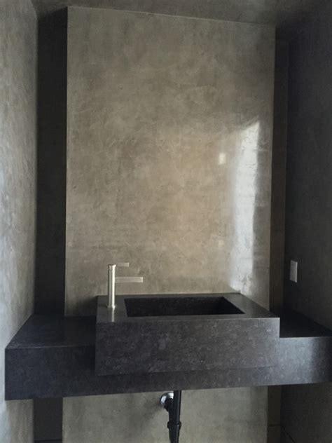 plaster walls in bathroom grey venetian plaster bathroom modern other by walls