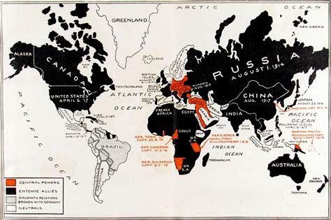 map world at war 40 maps that explain world war i vox