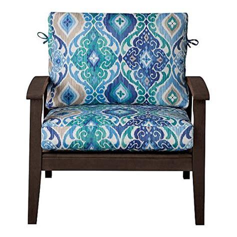 Outdoor Patio Deep Seat Relaxed Chair Cushion Set Seasonal
