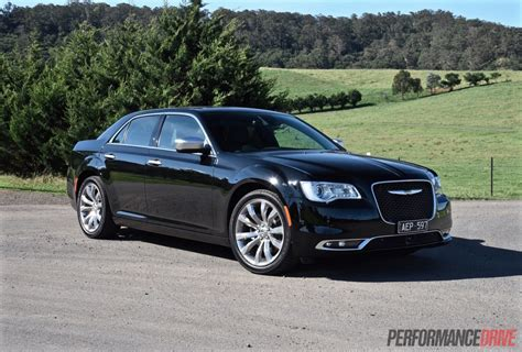 chrysler 300c black 2015 chrysler 300c luxury review video performancedrive
