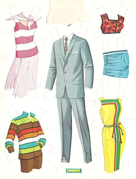 printable ken paper dolls weekend project no 2 paper dolls for a rainy day poppytalk