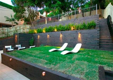 Tiered Backyard Landscaping Ideas The 25 Best Tiered Garden Ideas On Terraced Landscaping Drain Installation