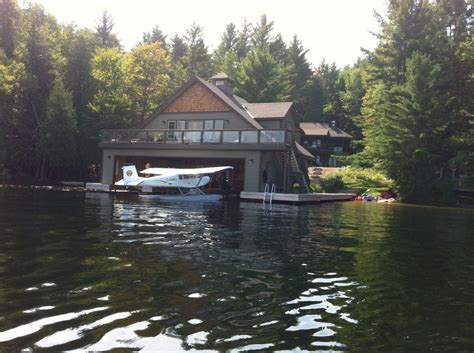Tiny Houses Texas illegal muskoka boathouse called an aircraft hangar to