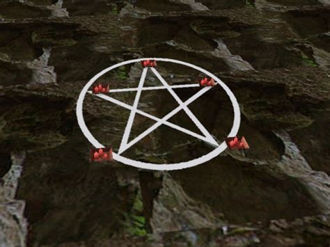 pentacle rug mod the sims invis o rug with pentacle inlay