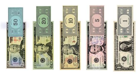 monopoly money and federal reserve notes side by side you won t believe it national broadside
