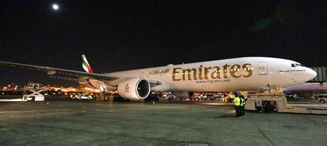 emirates hotline emirates touches down at newark international airport via