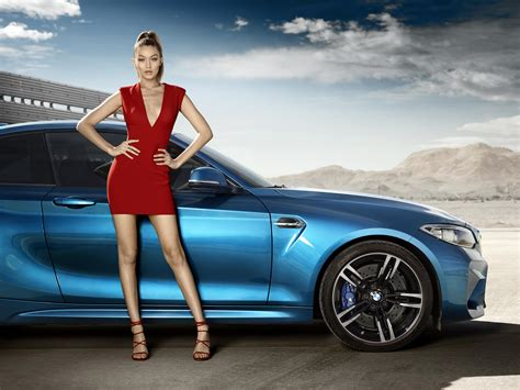 bmw ads 2016 get your bmw m2 gigi hadid wallpapers here