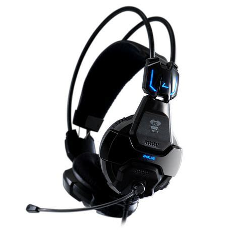 E Blue Cobra Gaming Headset Orange 1 e blue cobra professional gaming headset white walmart canada
