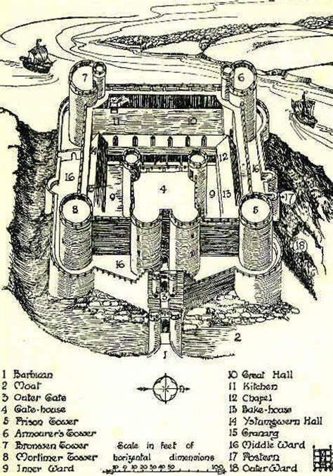 beaumaris castle floor plan maps of harlech castle cartography rpg maps