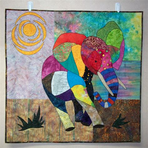 Elephant Quilt Patterns by Question High Speed Quilts Stitch This The