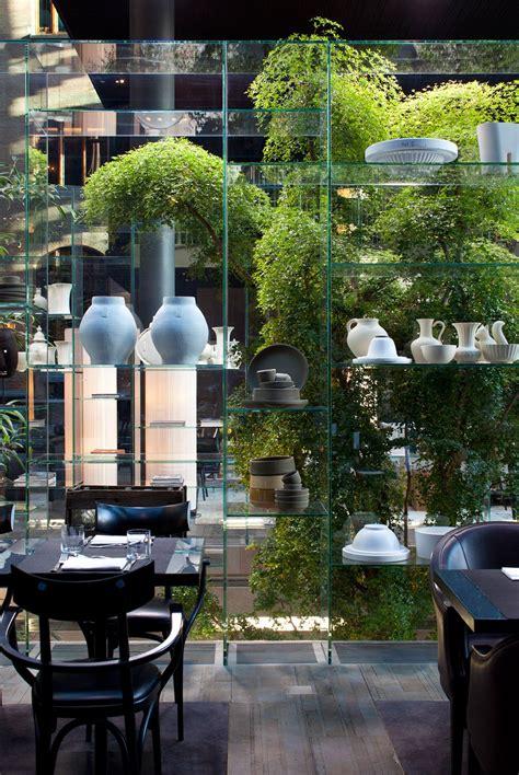best plant store in amsterdam conservatorium hotel amsterdam green bar restaurant design restaurant