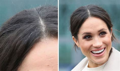 Wedding Hairstyles For Grey Hair by Meghan Markle Fans Furious At Article Highlighting Grey