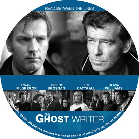 The Ghost Writer Raydvd Combo ghost writer custom dvd labels the ghost writer label dvd covers