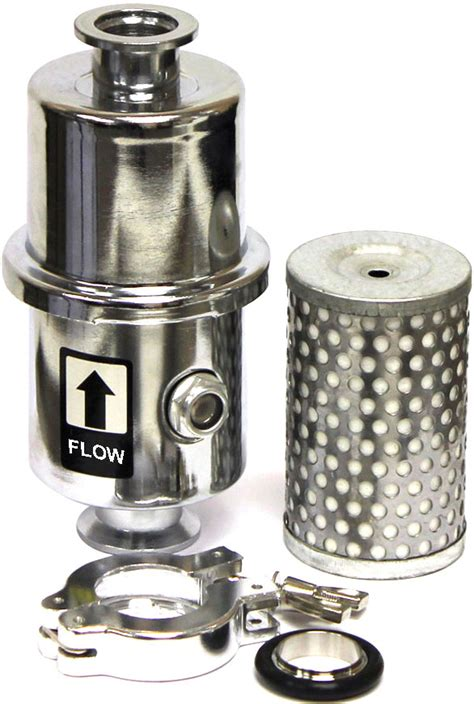 international exhaust filter light new ez swap vacuum pump exhaust oil mist filter trap with