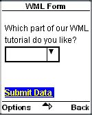 wap wml tutorial pdf wml tutorial learn how to submit form data to the server