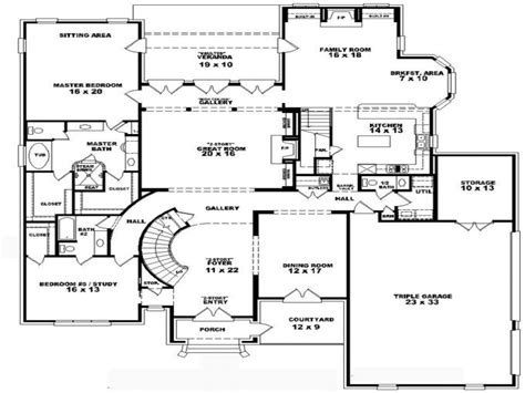 2 story loft floor plans vdara two bedroom loft 4 bedroom 2 story house floor plans