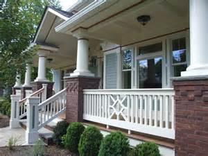 Cheap Porch Columns 17 Best Ideas About Front Porch Railings On
