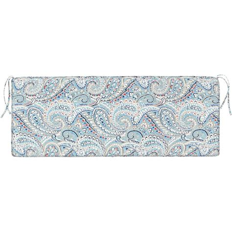 rectangular bench cushion home decorators collection nessa paisley rectangular