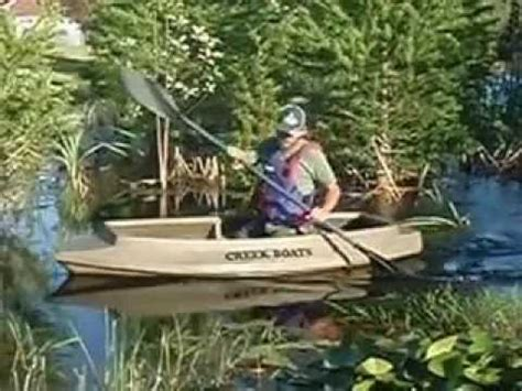 duck hunting creek boat creek boat m80 youtube