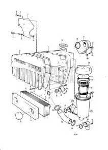 Volvo Marine Parts Volvo Penta Exploded View Schematic Heat Exchanger And