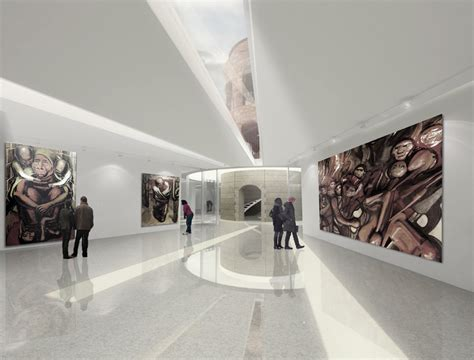 museum design proposal wordlesstech mexico city national archive museum design