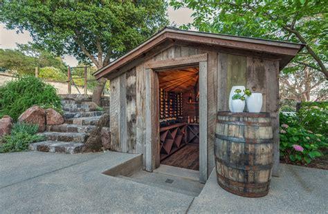 Tiles For Backyard Rustic Wine Cellars