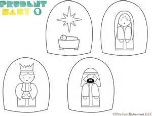 manger template easy diy nativity set with free printable pretty prudent
