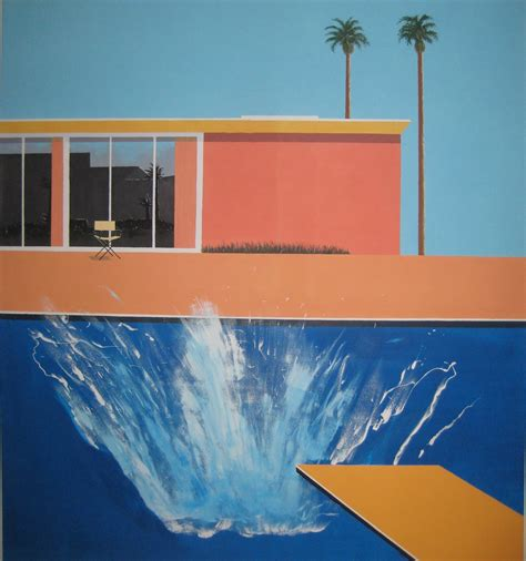 Teh Siiplah david hockney a bigger splash www imgkid the image kid has it