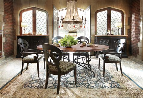 arhaus dining room tables copper dining table traditional dining room other