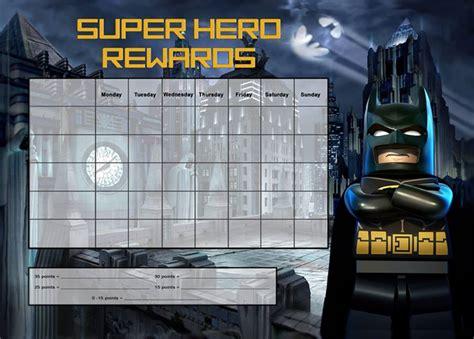 batman printable reward charts chart template category page 191 efoza com