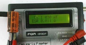 Alat Tes Elco esr digital skema elektronik