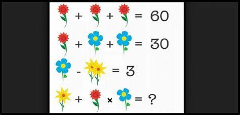 test matematica test di matematica prova a risolvere il rebus con i fiori