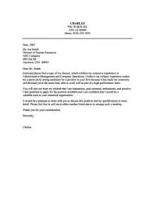cover letter for a administrative position 14 sle cover letter administrative assistant 2 riez