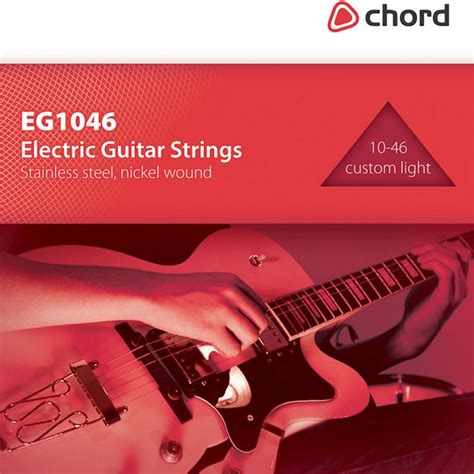 Electric Guitar Strings Steel Nickel Custom Light Plus Light Guitar Strings