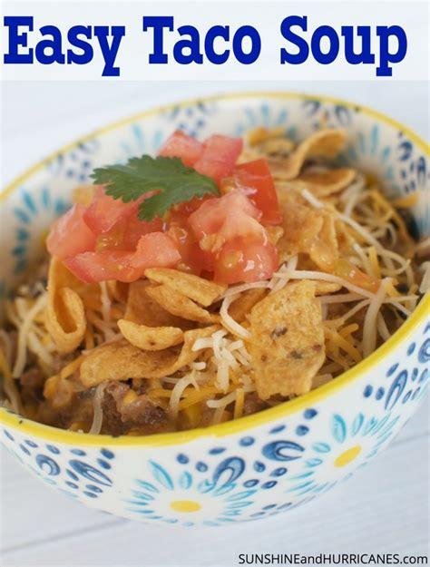 easy taco soup recipe easy taco soup the o jays and taco soup
