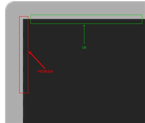 xml layout border xml strange dotted not regular line on some android