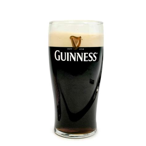 engraved barware guinness beer pint glass tuff luv