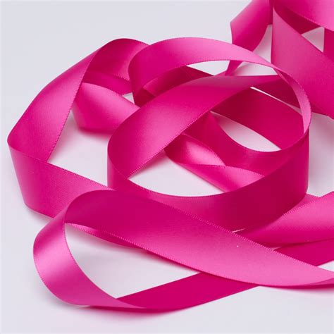 Easy Home Design Online Fuchsia Pink Satin Ribbon