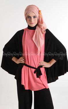 Fashion Muslim Atasan Wanita Blouse Arshy Top Pink model baju gamis modern terbaru dian pelangi maroko batik models modern