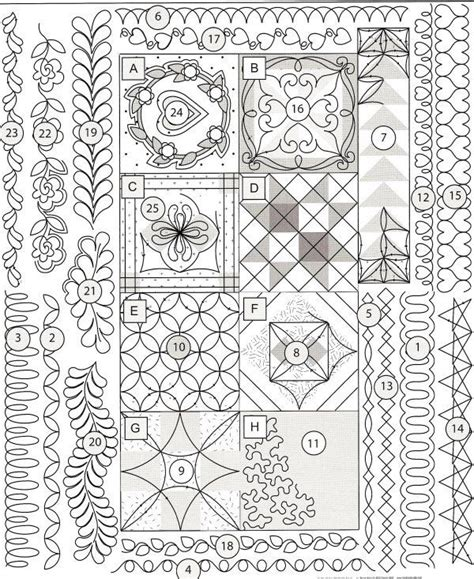 printable free motion quilting designs 131 best free motion quilting motifs images on pinterest