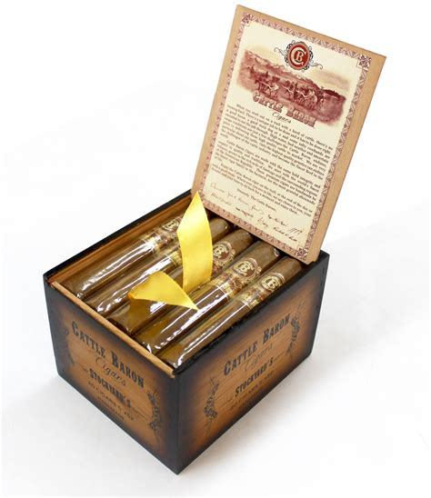 big box open during new year phil zanghi announces cattle baron cigars halfwheel