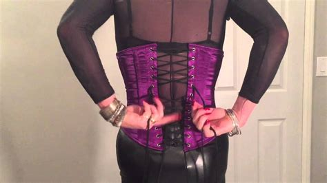 tg forced into corset how to lace yourself into your crossdresser corset