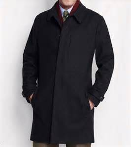 Lands End Barn Coat Lands End Men S Wool Tall Navy Blue Top Coat Nwt Retail 239